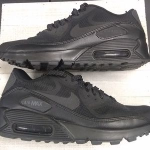 Shoes - Nike Air Max 90 black anthracite reflective shoes
